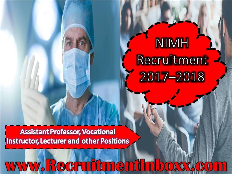 NIMH Recruitment