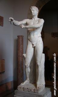 apoxyomenos museus vaticanos guia portugues - Museus Vaticanos antes da abertura ao público