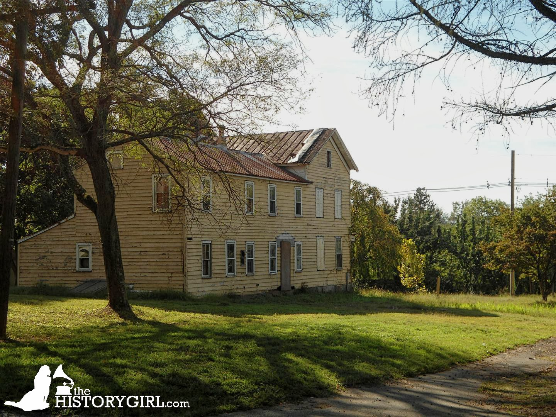 One Of The Farmhouses Used To House Employees Princeton Nurseries