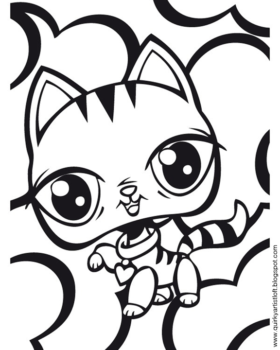 free printable lps coloring pages - photo#21