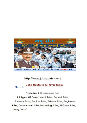 Indian Air Force Recruitment 2017 for Airmen Post In Group 'Y'