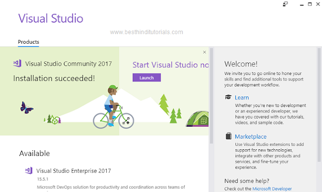 Installing-Microsoft-Visual-Studio-Expression-in-Hindi-12