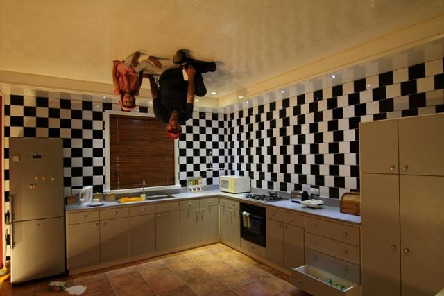 La cocina de Curious Corner de Chamarel
