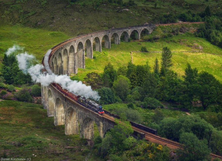 3. The Jacobite, Scottish Highlands, Scotland - Top 10 Scenic Rides