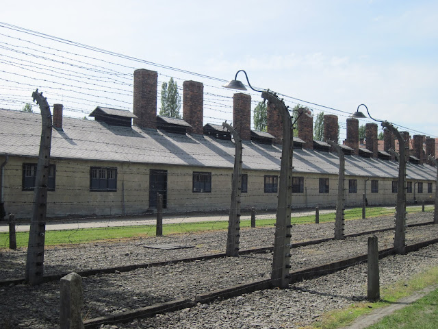 Auschwitz Concentration Camp, Poland. Built during the 2nd ... |Concentration Camps Buildings