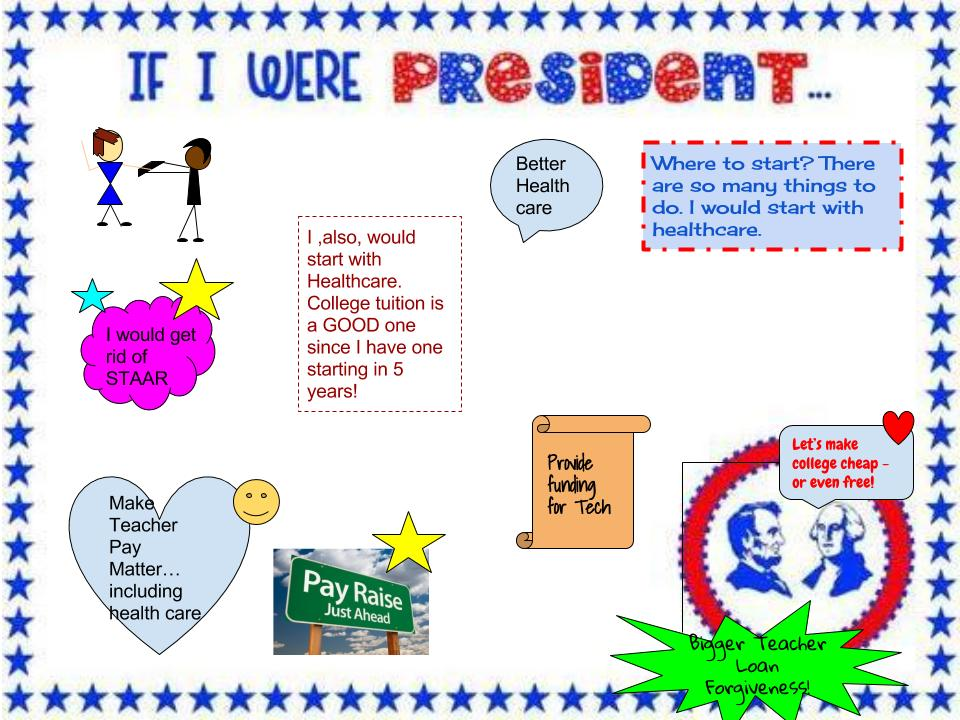 if i was president i would