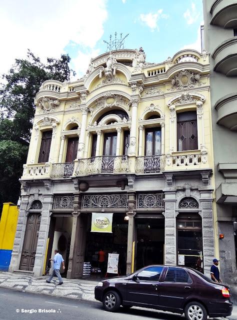 Fachada da Casa da Boia - Centro - São Paulo