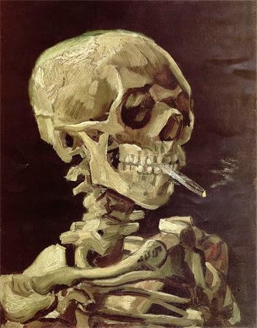 Ван Гог, история табакокурения