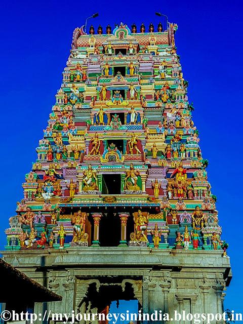 Pancha Linga Temple Tower Begur