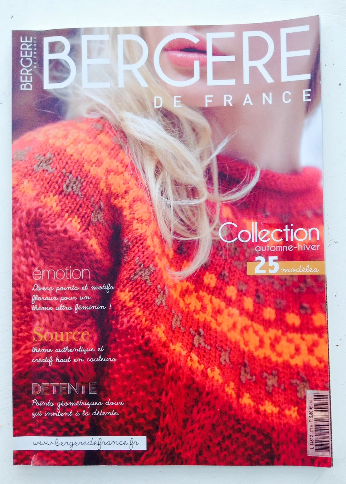 catalogue bergere de france hiver 2013-2014