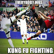 Soccer? That looks like a kung fu battle to me