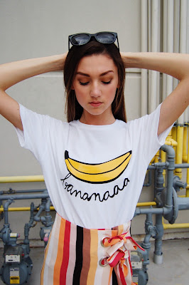 Kate Bartlett, teen fashion blogger, teen style, Urban Outfitters, Zara graphic tee