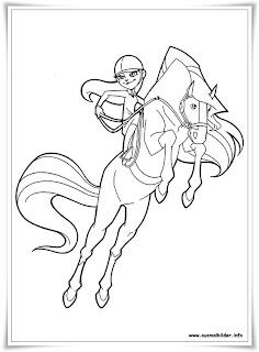 ausmalbilder zum ausdrucken: ausmalbilder horseland kostenlos