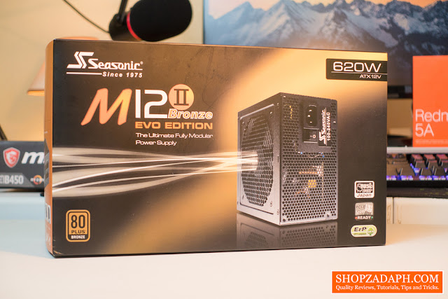 Seasonic M12II 620W for Ryzen 5 2600X