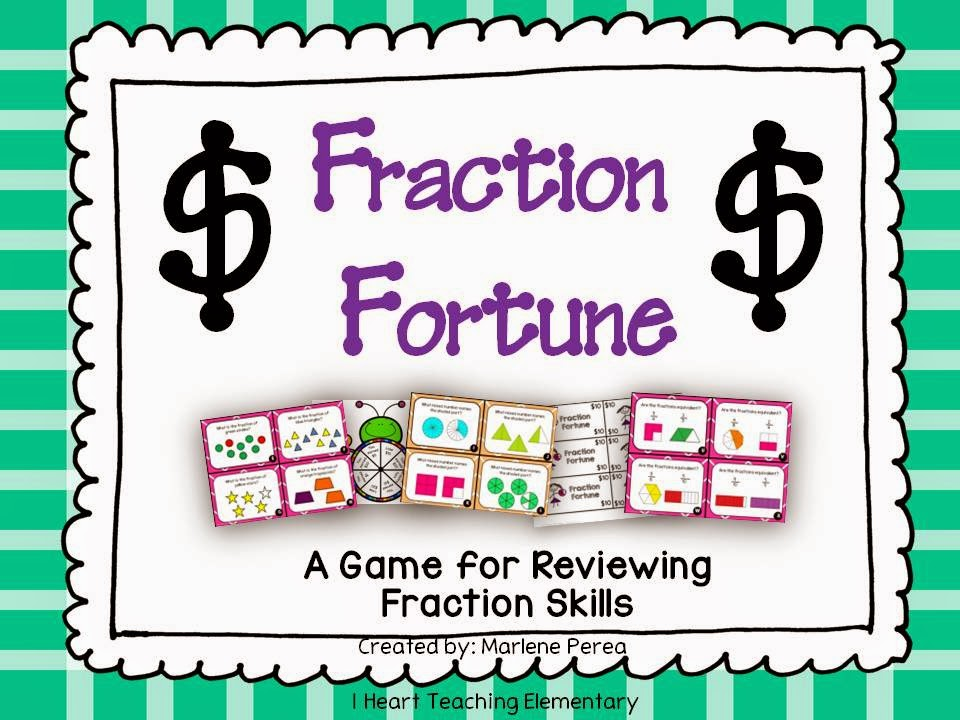 Review Game for Fractions