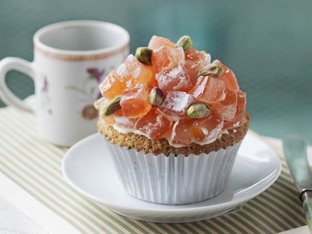 Turkish delight cupcakes