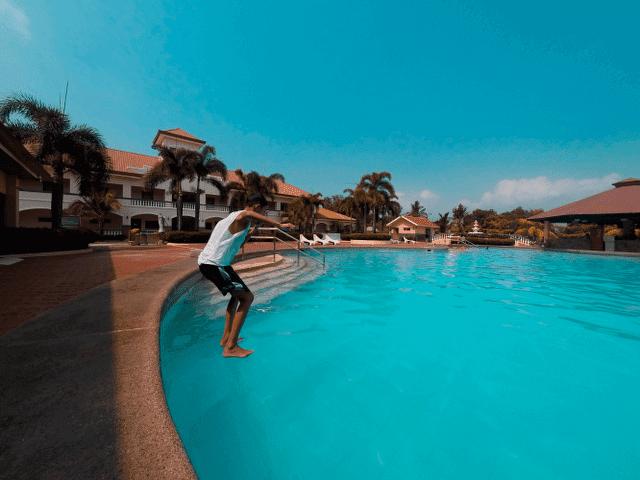 subic waterfront resort and hotel pool subic zambales