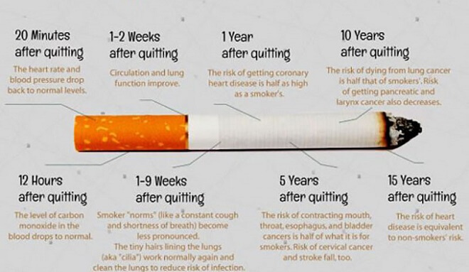 Here's What Happens To Your Body When You Stop Smoking
