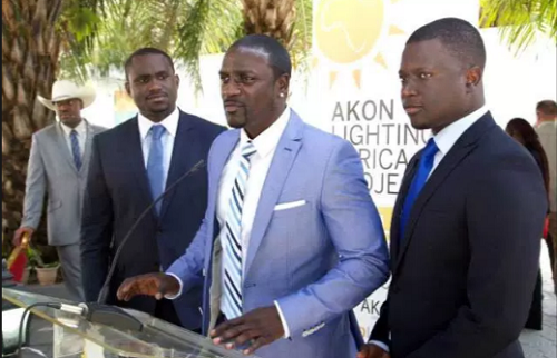 Akon In Liberia To Install Electricity At Schools