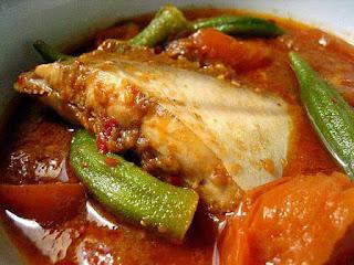 Aneka Kreasi dan Resep Asam Pedas Ikan Bawal