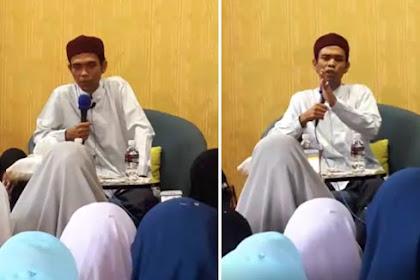 Ditelpon Seorang Wanita Yang Menangis di Tengah Malam, Jawaban Ustadz Abdul Somad Membuat Kaget