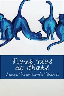 chat, livre, aquarelle