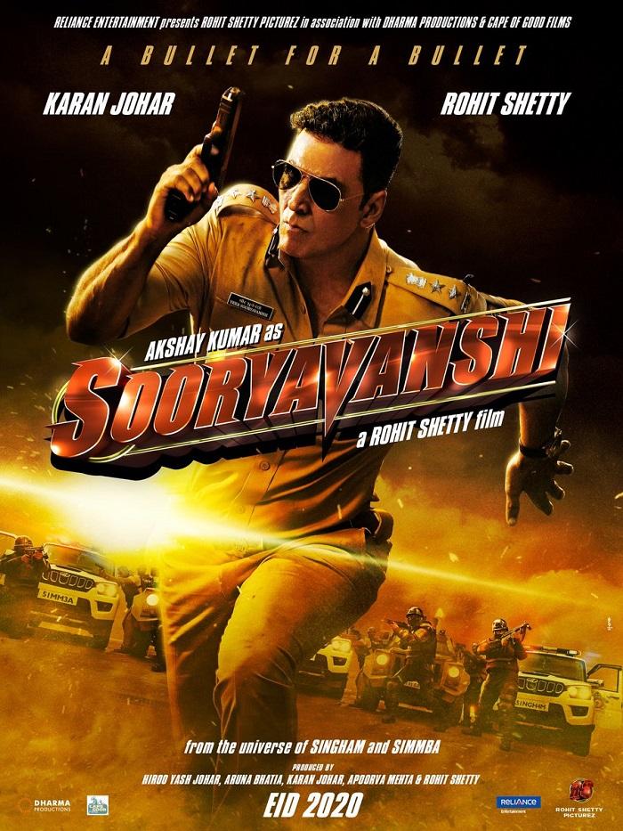 Sooryavanshi First Look Movie Posters, film releases EID 2020!