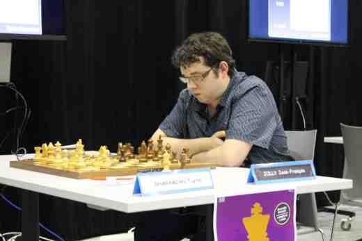 Jean-François Jolly est la révélation de ce début de championnat de France - Photo © Chess & Strategy
