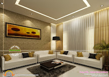 Home Interiors Design - Kerala And Floor Plans