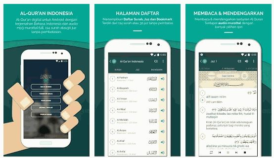 Aplikasi Al-Qur'an Indonesia