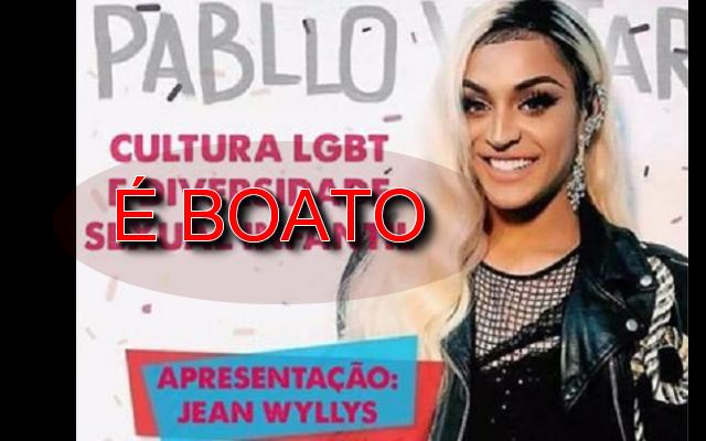 Jean Wyllys e Pabllo Vittar vão fazer turnê pelas escolas do Brasil [é boato].