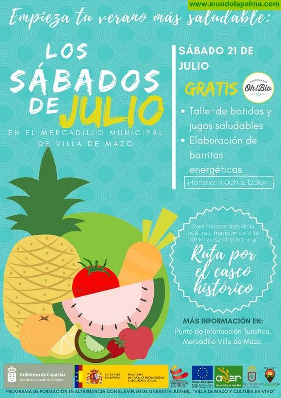 Mercadillo Municipal de Villa De Mazo 21 Agosto 2018
