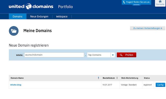 Endlich Ich Habe Mir Fur Meinen Blog Eine Neue Eigene Domain Mit