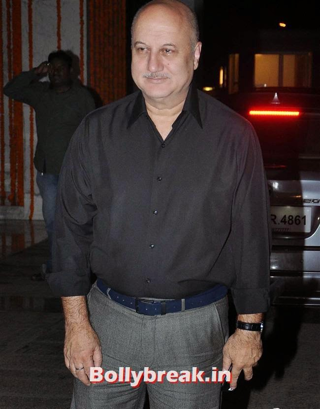 Anupam Kher, Bollywood Celebs at Kangana Ranaut Birthday Bash Pics