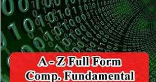 Tanzania Jobs 2019: All Full Forms - Computer Fundamental (A-Z