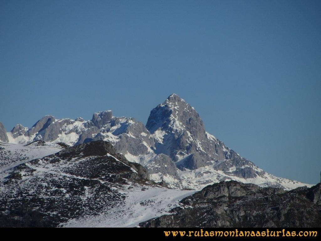 Pico Mosquito desde Tarna: Vistas desde el pico Paréu de la Peña Santa