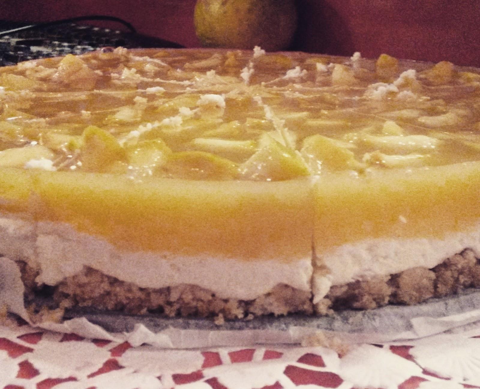 Rezept Ohne Backen Apfel Mascarpone Kuchen Haus Des Wahnsinns