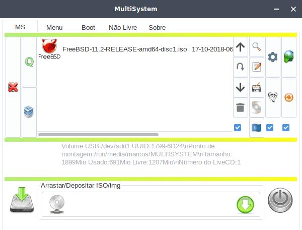 MultiSystem - Crie um MultiBoot USB a partir do Linux