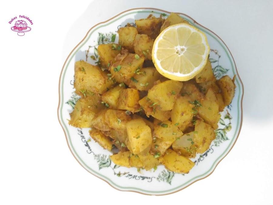 Patatas con comino (ALOO JEERA)