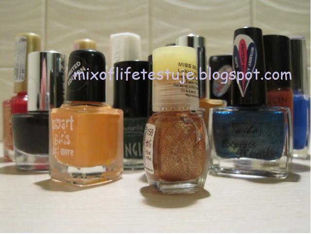 lakiery na jesień, lakierowa propozycja na jesień, kolory lakierów na jesień, autumn nails