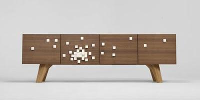 Muebles modernos con un toque de muy ingenioso