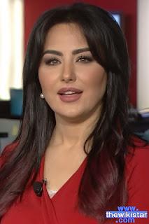 سهير القيسي (Suhair Al Qaisi)، مذيعة عراقية تعمل في قناة العربية