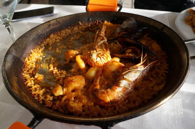 Restaurante La Gavina no Porto de Barcelona