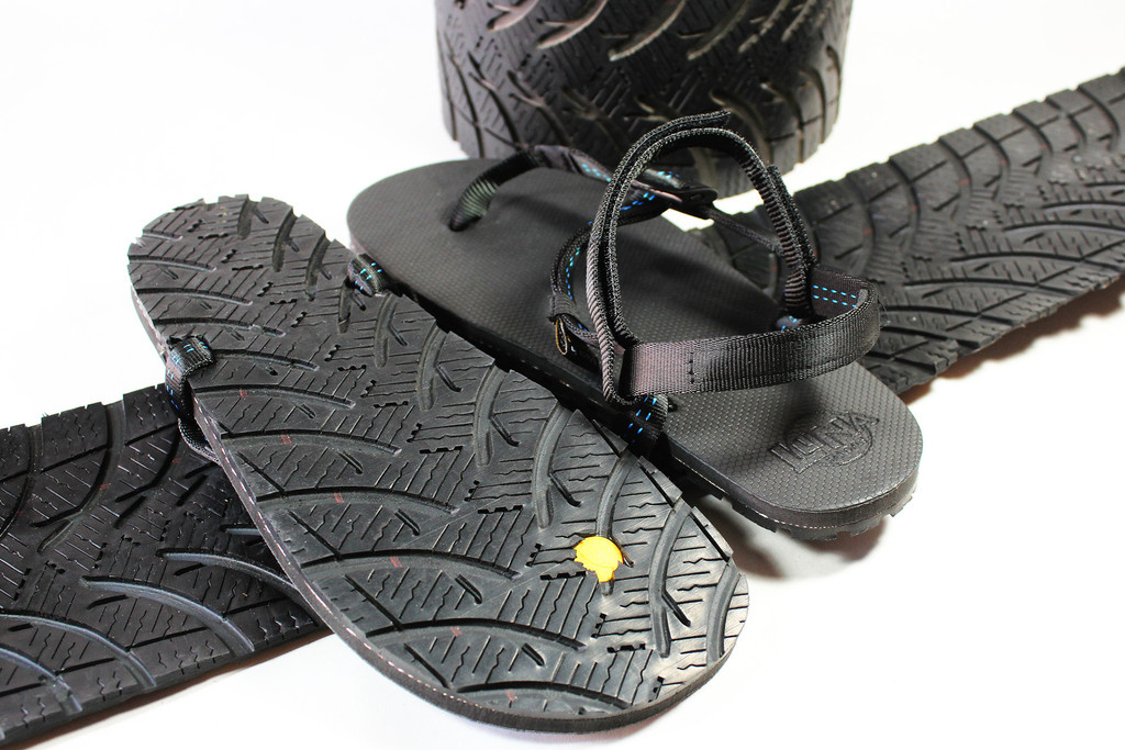 c690a1ff4c86 After years of waiting Luna finally made the perfect tire sandal. Using an Upcycled  Michelin Tire for tread and Vibram mid-sole they created both the most ...