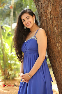 Actress Prasanna Stills in Blue Short Dress at Inkenti Nuvve Cheppu Movie Platinum Disc Function  0054.JPG