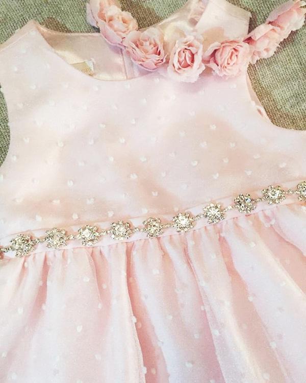 Moda primavera verano 2018 vestidos de fiesta para niñas.
