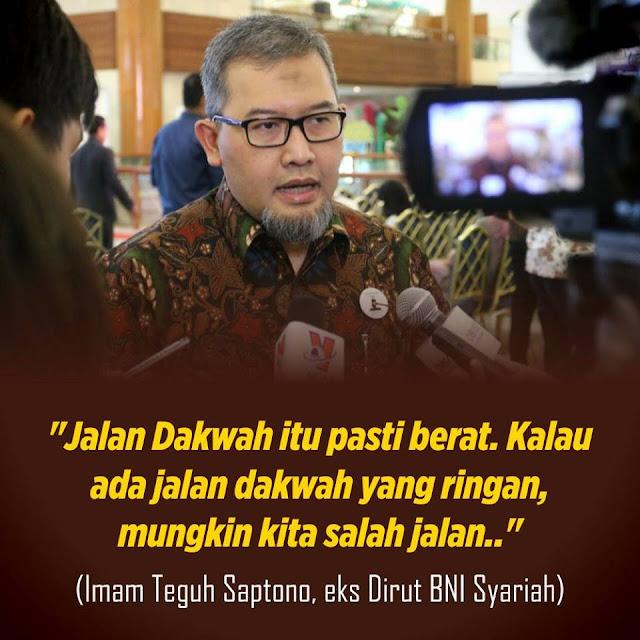 Benarkah Dirut BNI Syariah, Imam Teguh Saptono Dicopot Karena Kebijakan Anti RIBA?