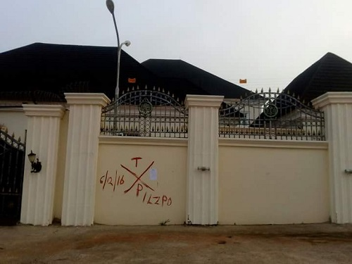 EXCLUSIVE: OGUN 2019: War Of Attrition As Amosun Marks Tinubu's Man, Sen. Olamilekan'S Houses For Demolision; See Photos