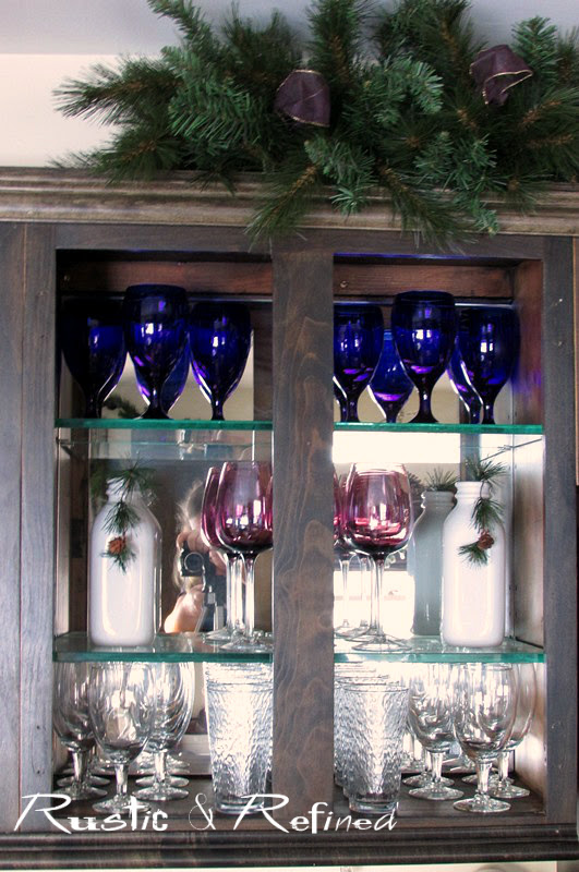 Creative and budget friendly ways to add holiday decor to the kitchen.