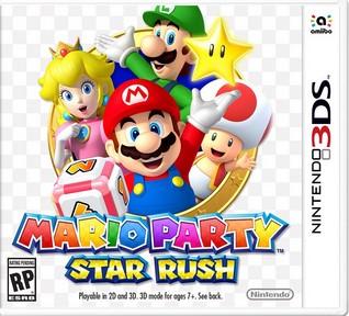 descargar Mario Party Star Rush para nintendo 3ds o n3ds cia completo español rom